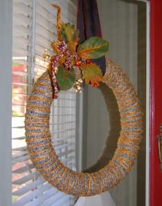 haloween wreath
